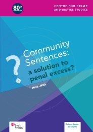 Community Sentences: - Social Welfare Portal