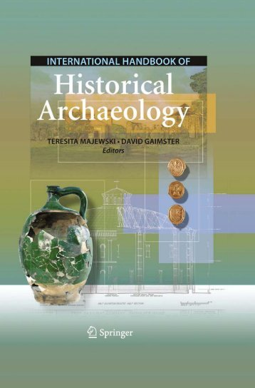 International Handbook of Historical Archaeology - Ning