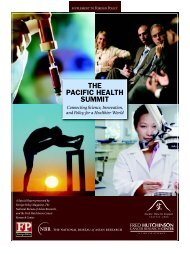 Foreign Policy's Pacific Health Summit Supplement