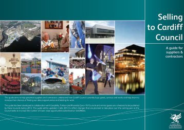 'Selling to Cardiff Council' Guide - WCVA