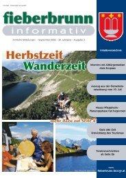 Herbstzeit Wanderzeit - Fieberbrunn - Land Tirol
