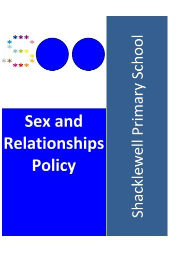 Sex & Relationship Policy - Shacklewell Primary School