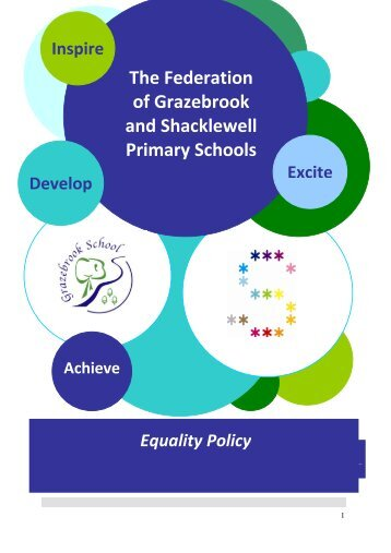 Equalities Policy - Shacklewell Primary School