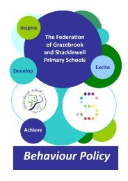 Behaviour Policy - Shacklewell Primary School