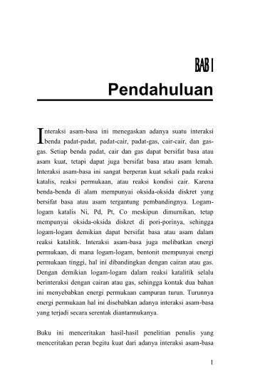 Pendahuluan - USU Press