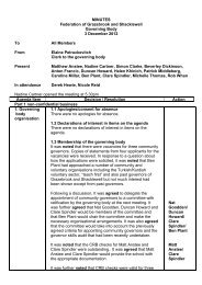 Federation Governor Minutes 03-12-12 - Shacklewell Primary School