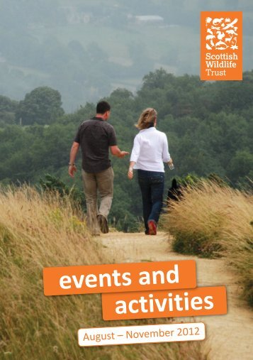 activities events and - Scottish Wildlife Trust