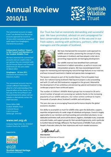 Annual Review 2011 - Scottish Wildlife Trust