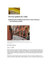 The best guided city walks - Emilie C. Harting
