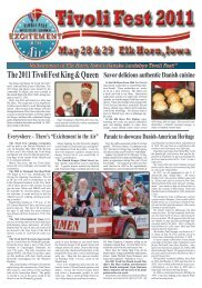 view Tivoli Newspaper with full Schedule of Events - The Danish ...