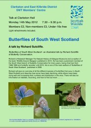 Richard Sutcliffe's talk v2 - Scottish Wildlife Trust