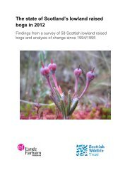 The state of Scotland's lowland raised bogs in 2012