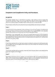 Complaints and Compliments Policy and Procedures