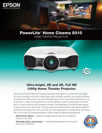 Powerlite® Home Cinema 5010