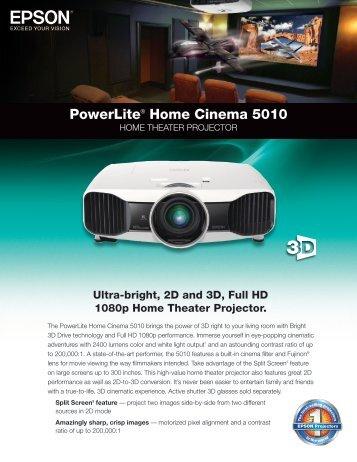 Powerlite® Home Cinema 5010