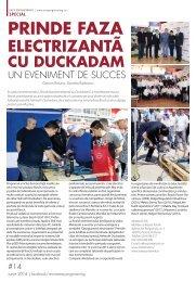 Prinde faza electrizantă cu Duckadam, un eveniment de succes