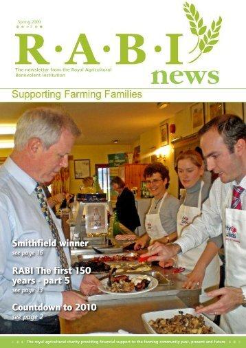 Countdown to 2010 RABI The first 150 years - part 5 Smithfield winner