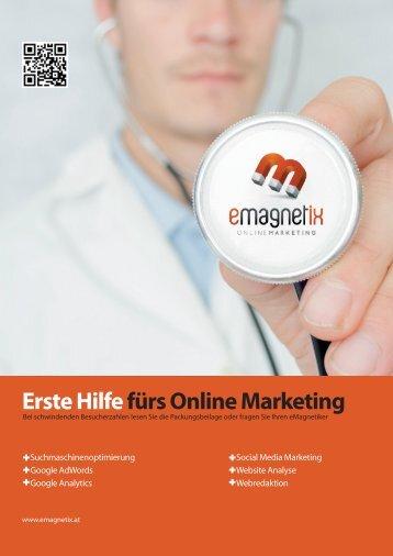 Erste Hilfe fürs Online Marketing