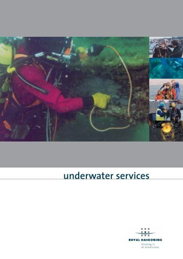 Underwater Services - Royal Haskoning Maritime