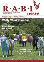 Welly Week round-up - Royal Agricultural Benevolent Institution