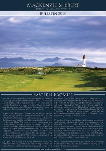 Eastern Promise - Mackenzie & Ebert