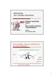 Præsentation - workshopleder - BEDREarbejde.dk