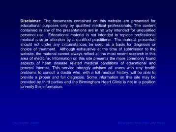 New imaging modalities 2012 - BMI Healthcare