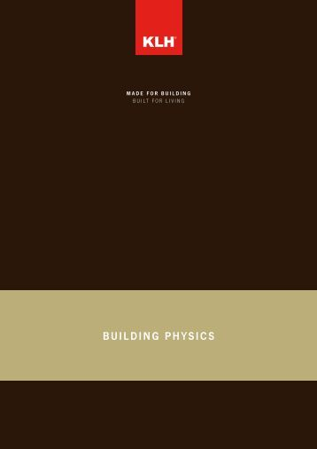 Component Catalogue - Building Physics 26/06/2012 - KLH