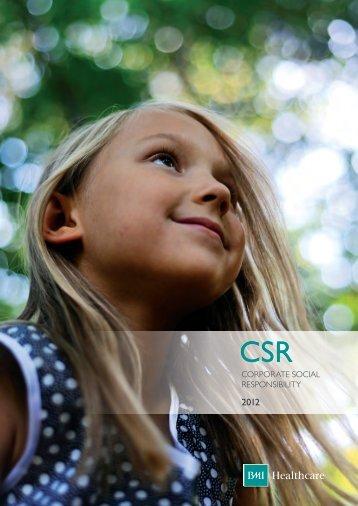 CSR Brochure V5 - BMI Healthcare