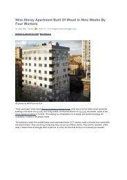 Article - Stadthaus, Murray Grove - KLH