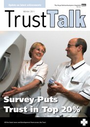 Survey Puts Trust in Top 20% - The Royal Wolverhampton Hospitals ...