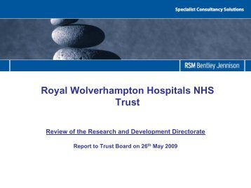 Review of the Research and Development Directorate - The Royal ...