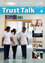 page 21. - The Royal Wolverhampton Hospitals NHS Trust