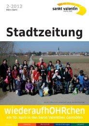 Stadtzeitung - Stadtgemeinde St.Valentin