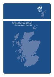 Annual Report 2004/2005 - National Services Division