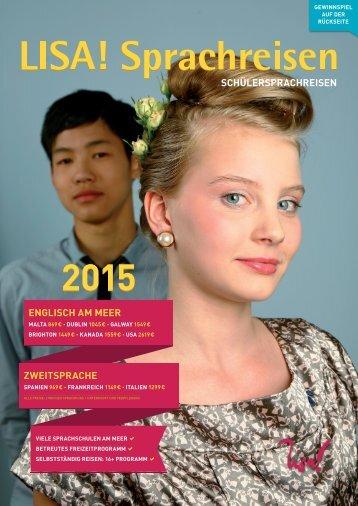 LISA! SCHÜLERSPRACHREISEN 2015  - Schweiz