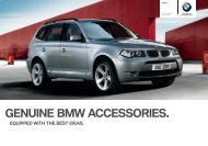 equipped With The Best ideas. Genuine BMW Accessories ...