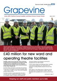 £40 million for new ward and operating theatre facilities