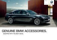 Equipped with the Best ideas. Genuine Bmw accessories range at ...