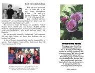 Ruth Elizabeth Kittelman - Kinkade Funeral Chapel