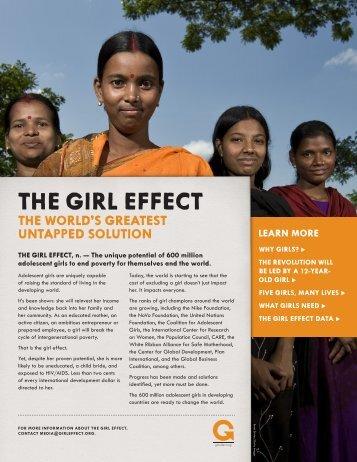THE GIRL EFFECT - Wikigender
