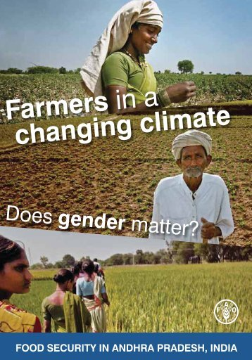 Does gender matter? - FAO