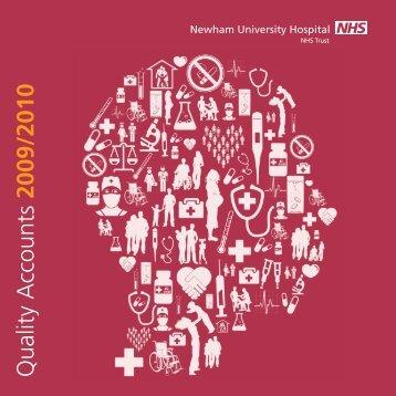 Quality accounts 2009 / 2010 - Barts Health NHS Trust