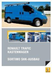 SORTIMO SHK-AUSBAU RENAULT TRAFIC KASTENWAGEN