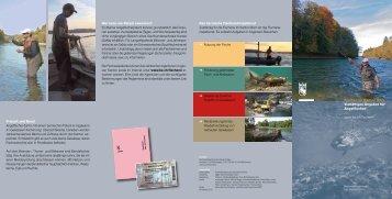 Fischen im Kanton Bern Vielfältiges Angebot für Angelfischer www ...