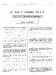 Le haut-commissaire de la République en Polynésie française ...