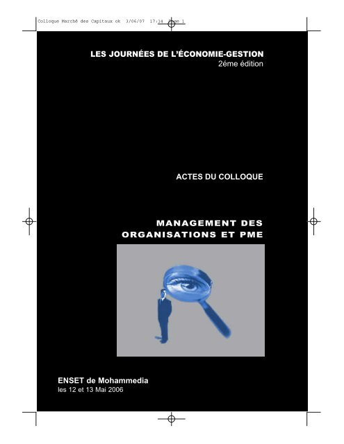 Actes des JEG2 - Index of - ENSET