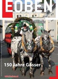 Juli - August 2010 - Stadtgemeinde  Leoben