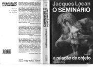 Jacques Laca n O SEMINÁRIO