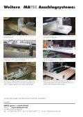 Parallelanschlag mit Handradverstellung und Klemmvorrichtung - Seite 2